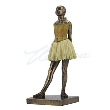 Degas Little Dancer - Unicorn Studios WU76687A4 Degas Little Dancer Ballerina - Bronze