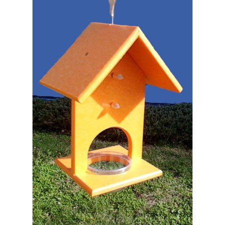 SERUBFJF Fruit and Jelly Oriole Feeder (Set of 1), Recycled plastic frame holds oranges and jelly By Songbird Essentials
