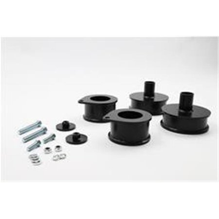 Belltech 34864 2.5 x 2 in. Front & Rear Leveling Coil Spring Spacer Kit for 2007-2017 Jeep Wrangler 4DR
