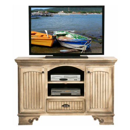 Eagle Furniture American Premiere 58 In  Entertainment Console With 2 Doors