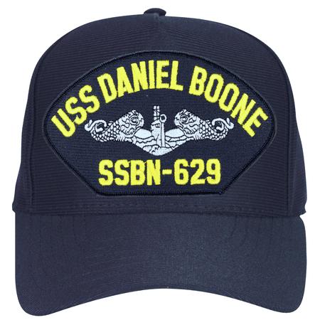USS Daniel Boone SSBN-629 ( Silver Dolphins ) Submarine Enlisted Cap ()
