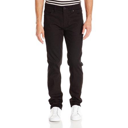 Volcom NEW Black Mens Size 34x32 Classic Straight Leg Stretch Jeans Volcom Black Jeans