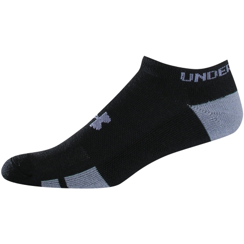 Under Armour 1282424 Men's UA Resistor III No Show Socks Pack of 6 Size M-XL