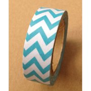 Love My Tapes Washi Tape 15mmX10m-Teal Chevron