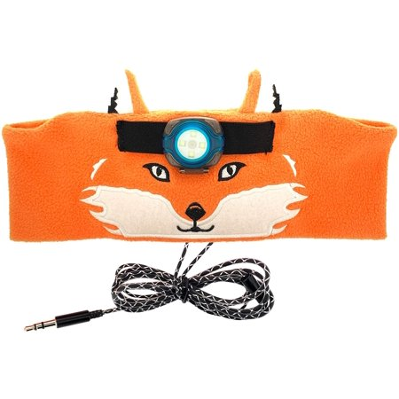 Sun Company WildLight Headband Headlamp/Headphones - Fleece Headband with Bright LED Head Lamp and Headphones for Kids - image 1 of 4
