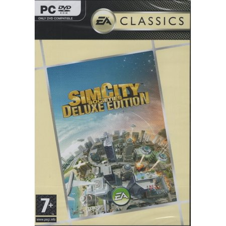 SimCity Societies Deluxe Edition (PC Games) includes (Best Strategy Simulation Games Pc)
