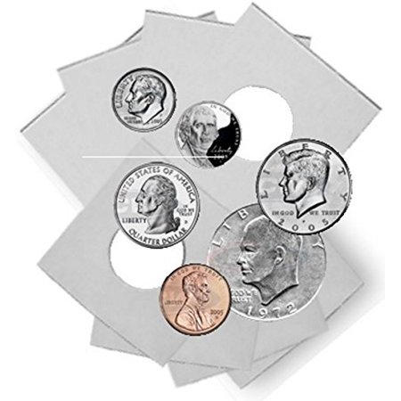 - Coin Flip Assortment - Cardboard 2x2 Holders - 25 each of 6 Sizes