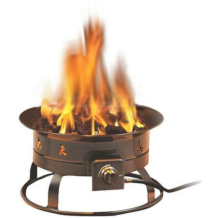 Heininger 5995 58,000 BTU Portable Propane Outdoor Fire - Halloween Fire Pit