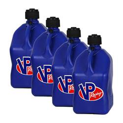VP FUEL CONTAINERS 3534 Fuel and Utility Jugs Utility Jug 5 Gal Blue Square (Case 4) ()
