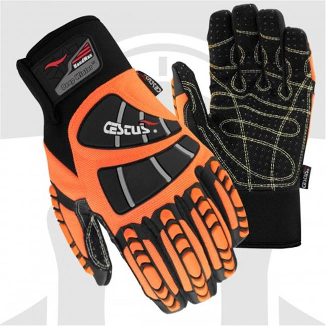 Cestus 5025 M Temp Series Hm Deep Winter Insulated Impact One Pair Glove - Medium