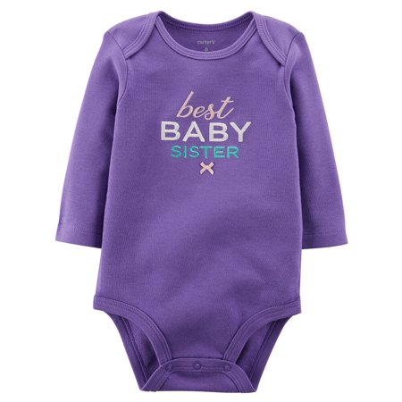Carters Baby Clothing Outfit Girls Best Baby Clothing Outfit Sister Bodysuit (Best Buy Girl)