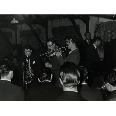 The Tubby Hayes Sextet Playing at a Modern Jazz Night at the Civic Restaurant, Bristol, 1955 Print Wall Art By Denis Williams](Halloween Night In Bristol)