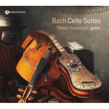 Tilman Hoppstock Plays Cello Suites for Guitar