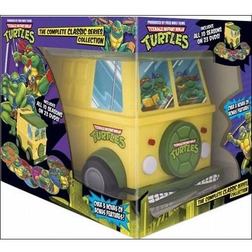 Teenage Mutant Ninja Turtles: The Complete Classic Series (TMNT Party Van Packaging)