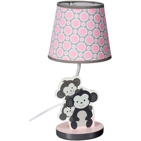 Bedtime OriginalsTM Pinkie Lamp With Shade Bulb