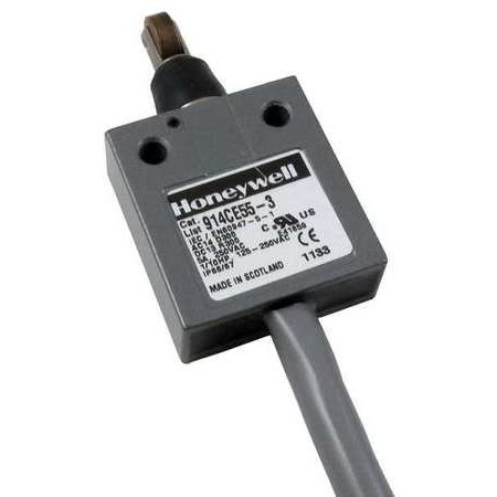 HONEYWELL MICRO SWITCH 914CE55-3 1NC/1NO SPDT Limit Switch Cross Roller Plunger - Limit Switch Roller