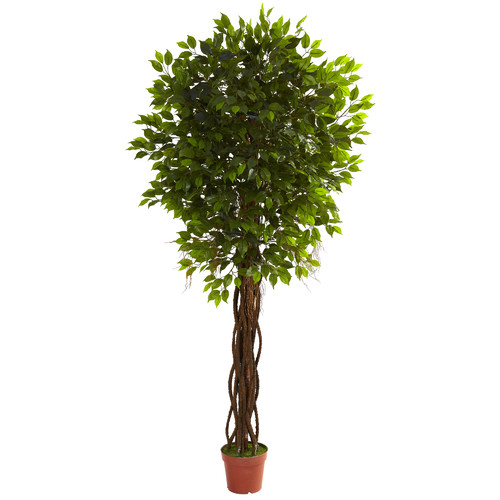 Nearly Natural Faux Ficus Tree