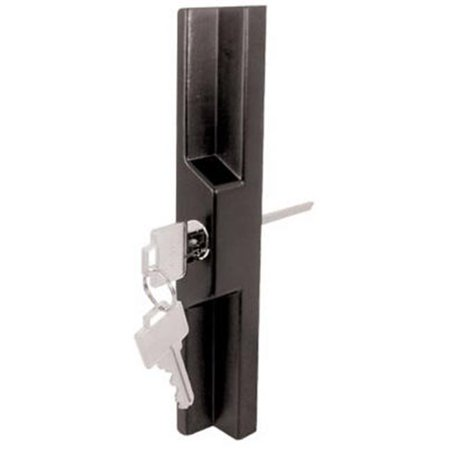 141860 Aluminum Glass Door Outside Pull Handle - Black