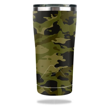 MightySkins Protective Vinyl Skin Decal for Ozark Trail Tumbler (Original Design) 20 oz wrap cover sticker skins Green Camouflage](Camo Cup)