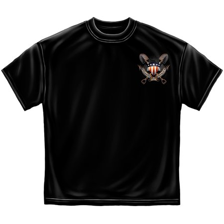 American Worker American Laborer T Shirt By Erazor Bits  Black