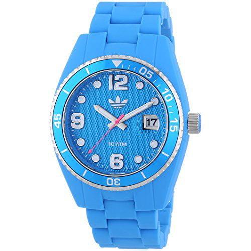 Adidas ADH6163 Blue Brisbane Silicone Watch by