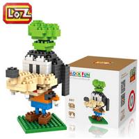 LOZ Cartoon Diamond Blocks Goofy Blocks Cute Mini Blocks DIY