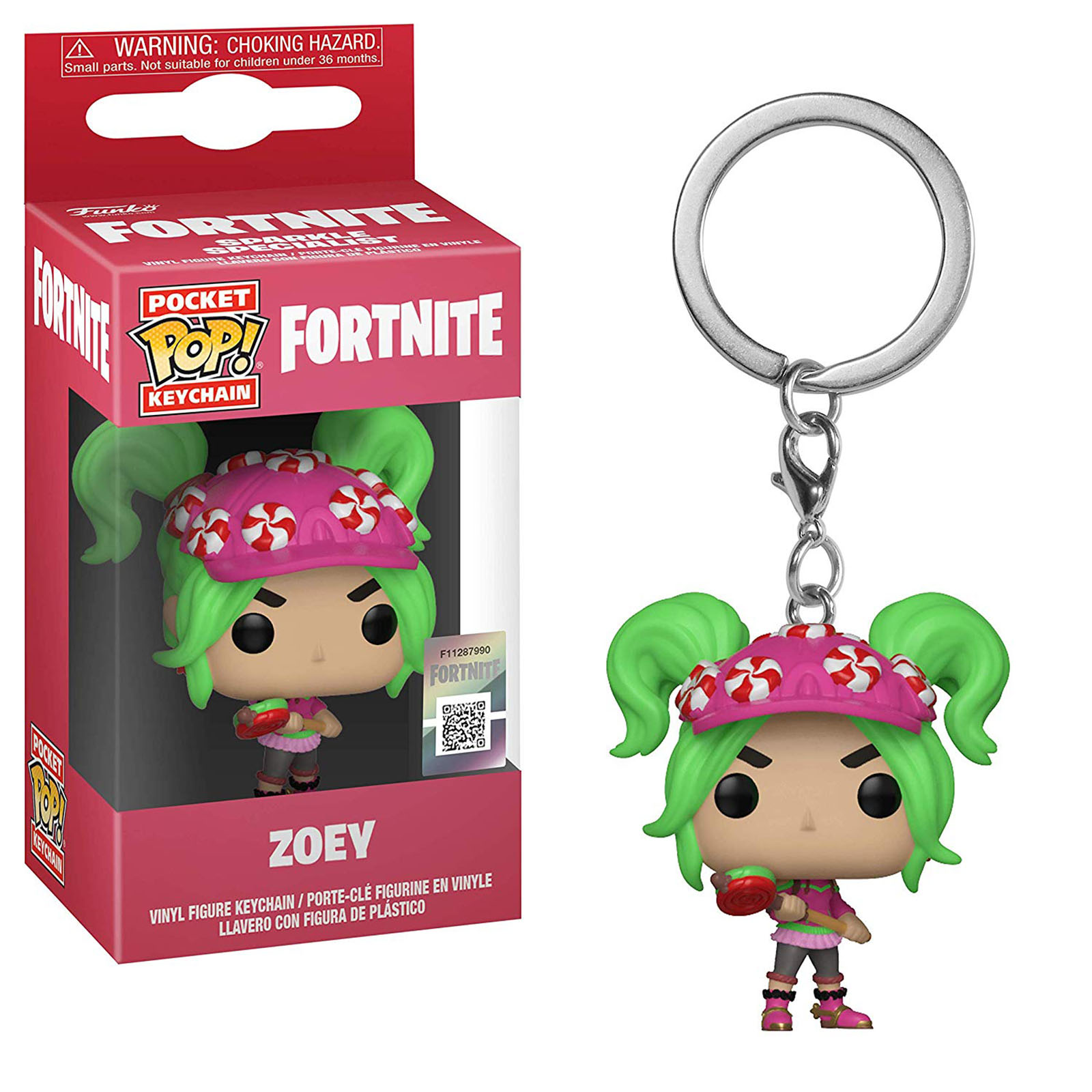 Funko Fortnite Pocket POP Zoey Vinyl Figure Keychain