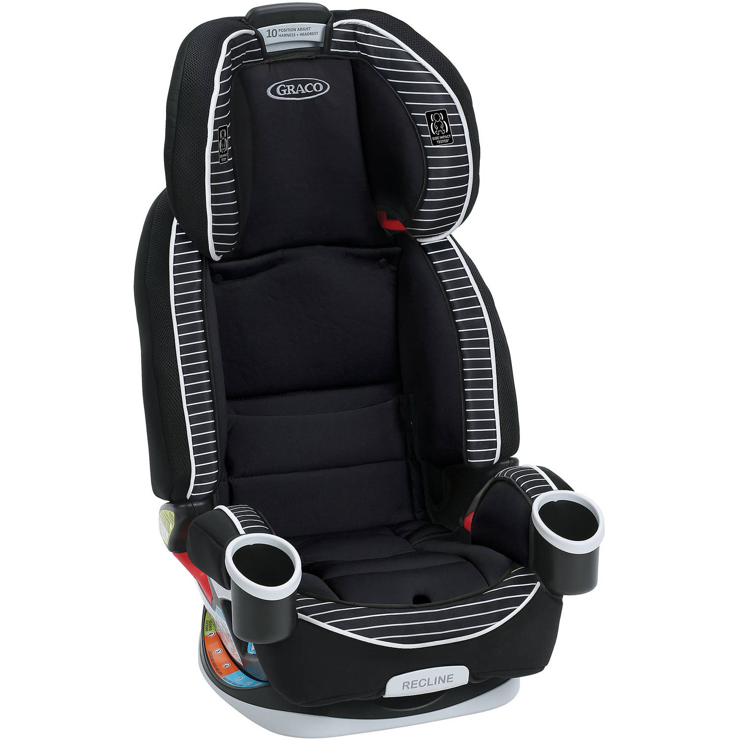 graco 4ever all in 1 convertible car seat choose your pattern ebay. Black Bedroom Furniture Sets. Home Design Ideas