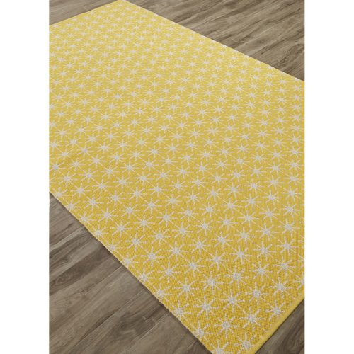 Varick Gallery Maurice Yellow/Ivory Area Rug