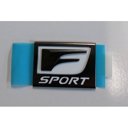 Toyota Genuine Parts 75362-48030 RX Left F-Sport Badge, By