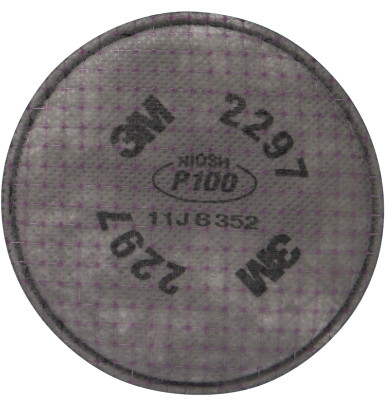 2297 ADVANCED PARTICULATE FILTER- P100  100/CS