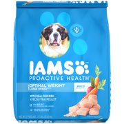 IAMS PROACTIVE HEALTH Large Breed Adult Optimal Weight Dry Dog Food 29.1 Pounds