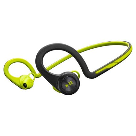 Plantronics Backbeat Fit Wireless Headphones + Mic Stereo Green Wireless Bluetooth 33 Ft Earbud, Over-the-ear... by