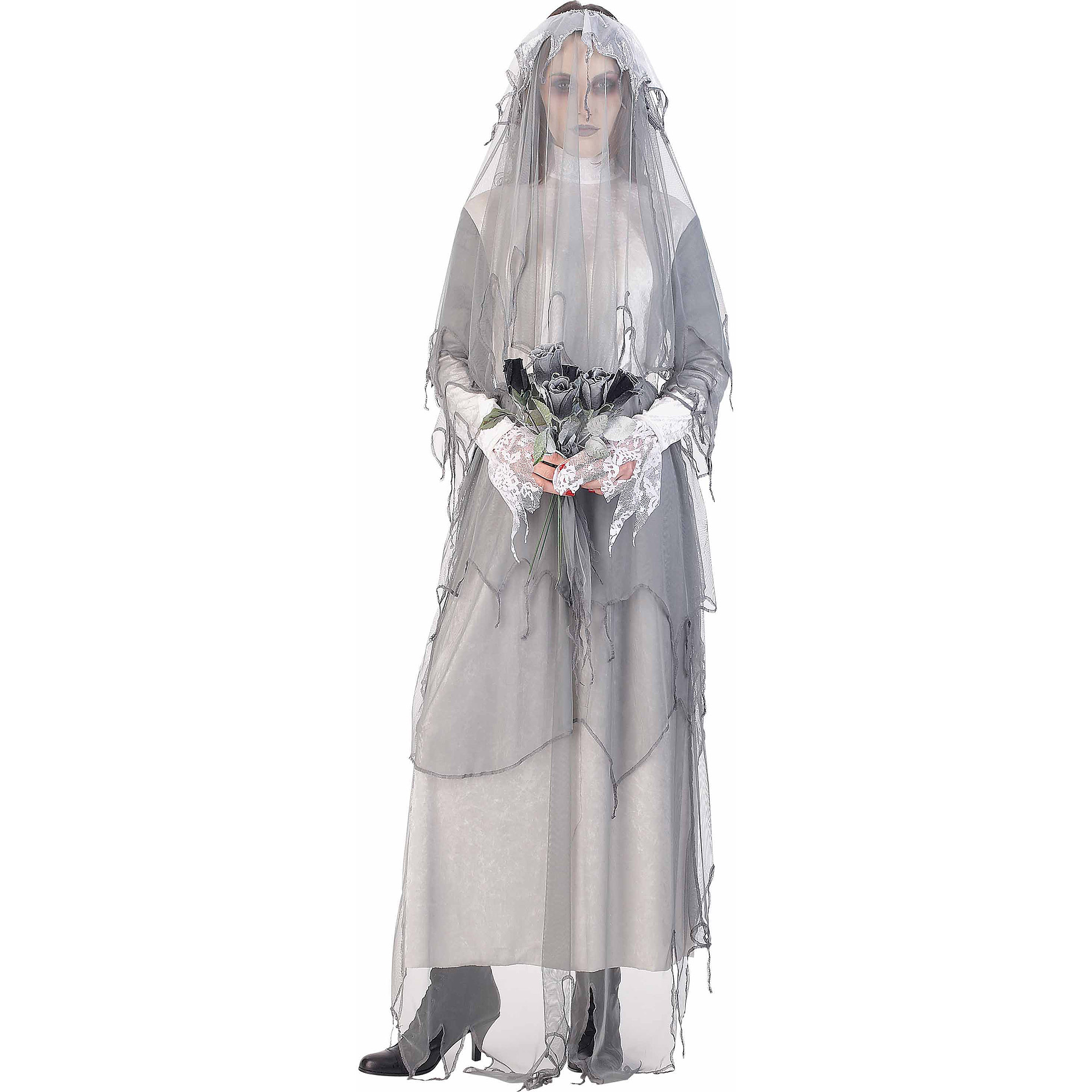 sc 1 st  Walmart & Lost Soul The Ghost Bride Adult Halloween Costume - Walmart.com