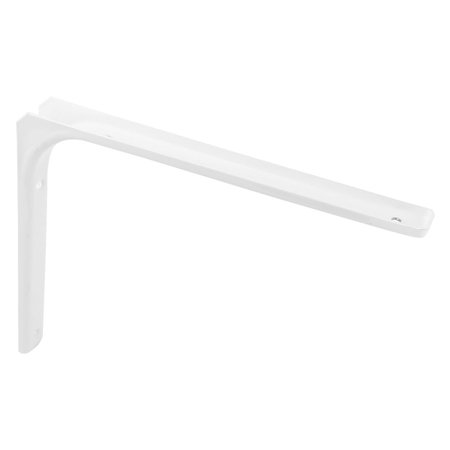 Countertop Metal L Shaped Wall Hanging Shelf Brackets Support White 30cm x 25cm (L-shaped Counter)