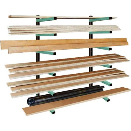 Series Rack System (Grizzly Industrial T27630 Lumber Rack 6-Shelf System)