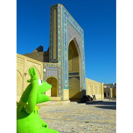 Canvas Print Miri Arab Building Bukhara Medrese Islam Stretched Canvas 10 x 14 ()