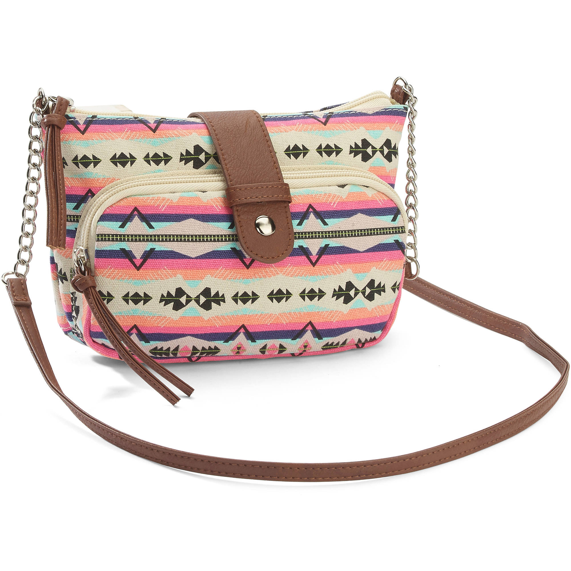 No Boundaries Women's Printed Small Cross body