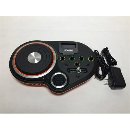 Refurbished Jensen JENJDJ500 DJ Scratch Mixer - Orange