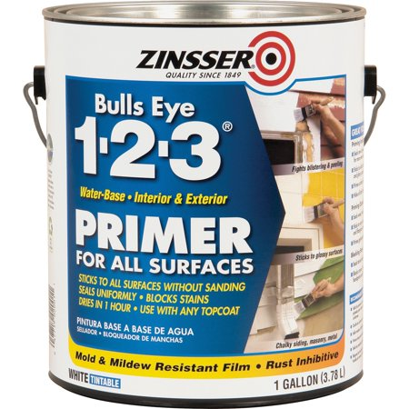 Zinsser, RST2001, Bulls Eye 1-2-3 Primer, 1 Each