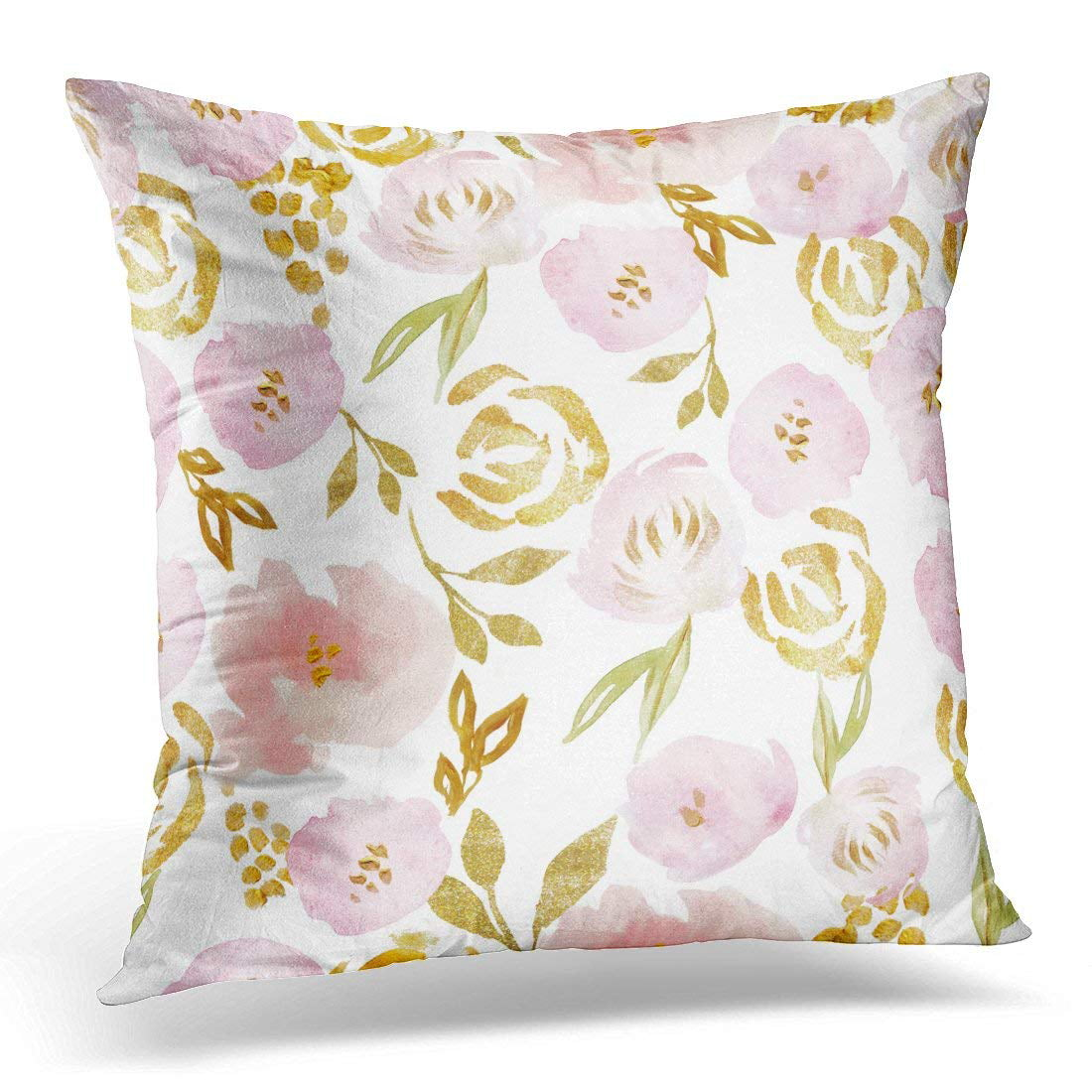 Pillow and white flower