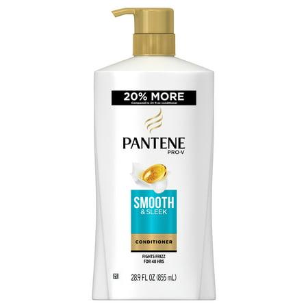 Pantene Pro-V Smooth & Sleek Conditioner, 28.9 fl oz