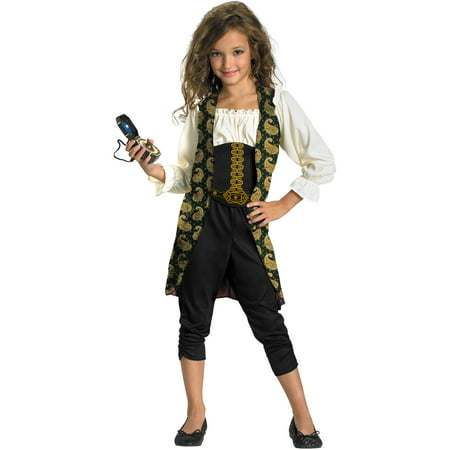 Pirates of the Caribbean Angelica Classic Child Halloween Costume - Pirate Costume Kids