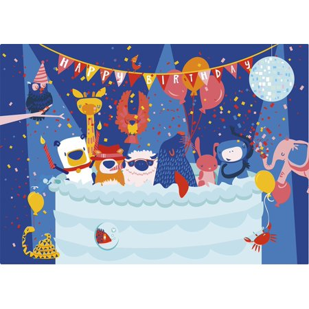 - Happy Birthday - Kids 48 Large Piece Jigsaw Puzzle, Part of silly street's character-building line of jigsaw puzzles and children's games By Silly Street