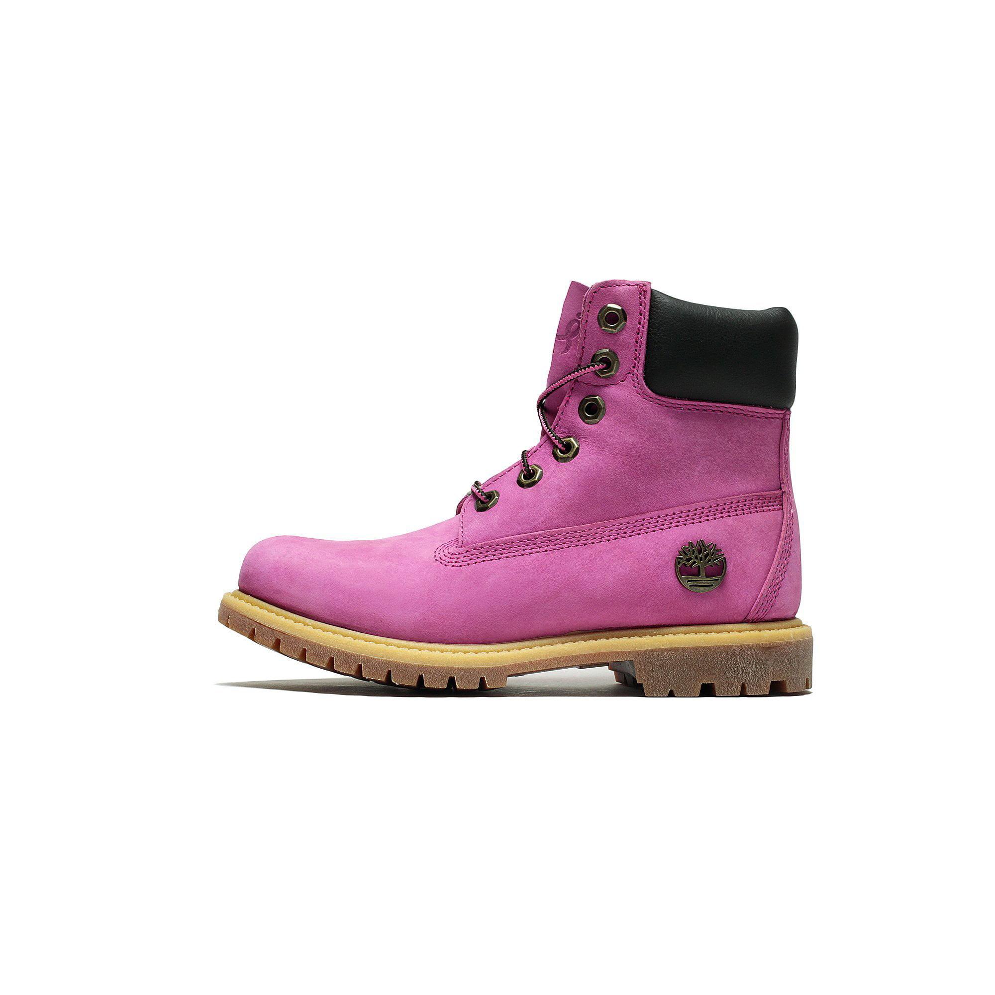 Womens Timberland 6 Inch Waterproof Boot Susan G Komen Pink TB0A1KHI by
