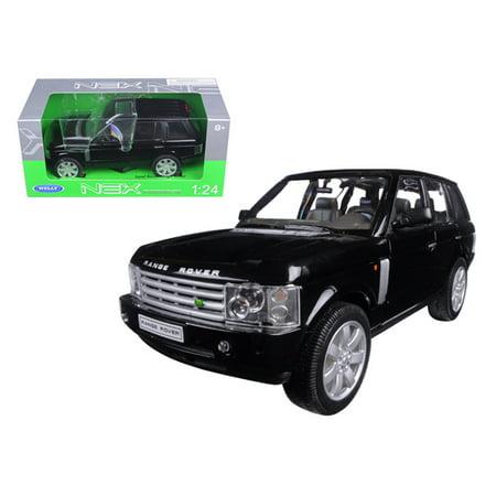 Land Rover Range Rover Black 1/24 Diecast Model Car by Welly (Model Range Rover)