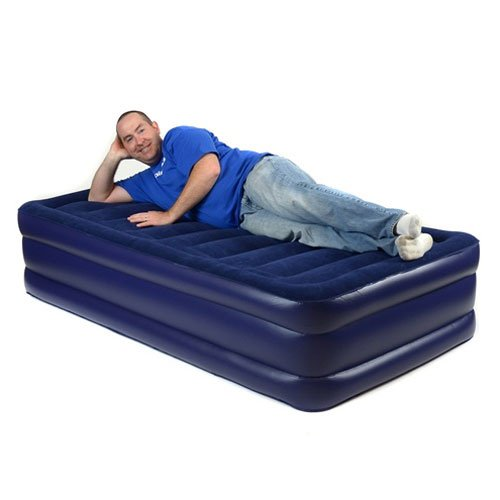Smart Air Beds BD-132 Deluxe Flock Top Raised Air Bed