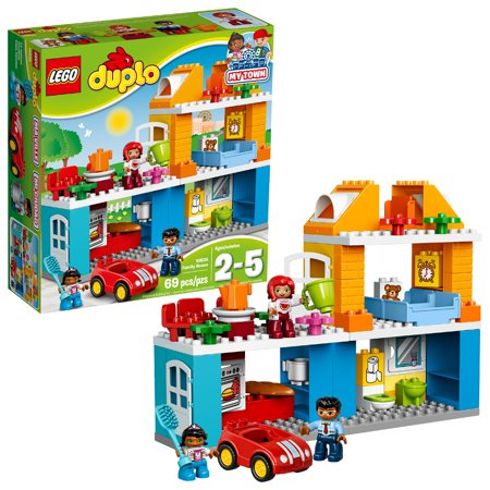LEGO DUPLO My Town Family House 10835 Building Set (69 Pieces) (Lego Architecture Building Set)