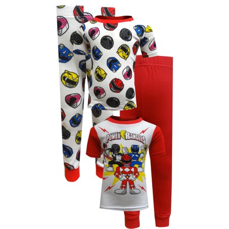 Power Rangers 4 Piece Cotton Toddler - Power Ranger Onesie Adults