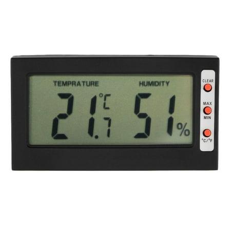 Hygrometer Digital Lcd Thermometer Hygrometer Max Min Memory Celsius Fahrenheit